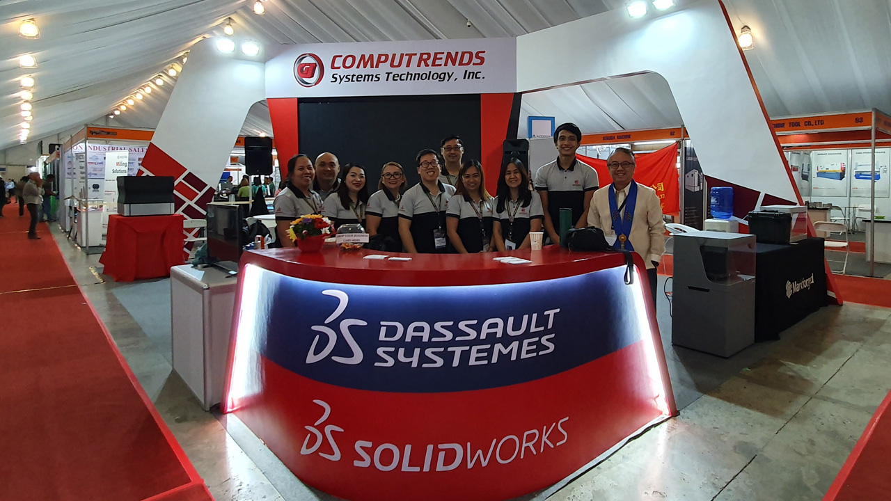 Computrends' Booth at PDMEX 2019